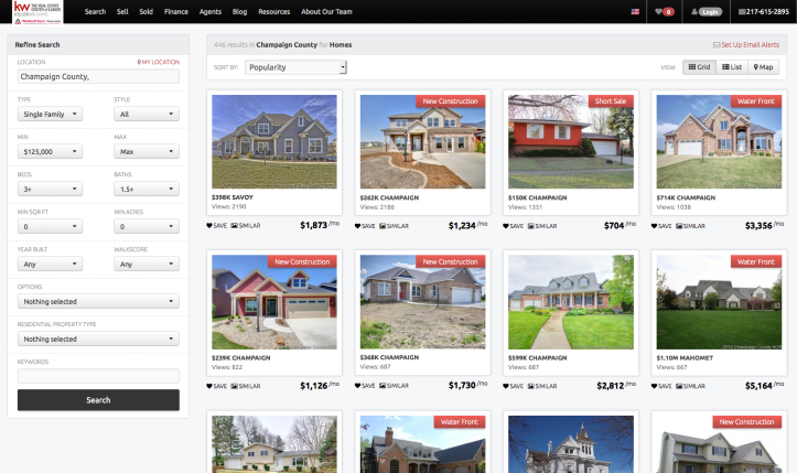 Champaign Home Search Image view