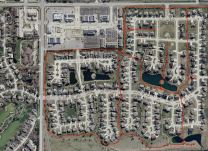 Robeson Meadows West Neighborhood Trail Map