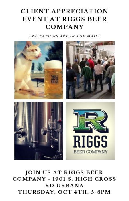 Riggs Beer Company - Client Appreciation Event
